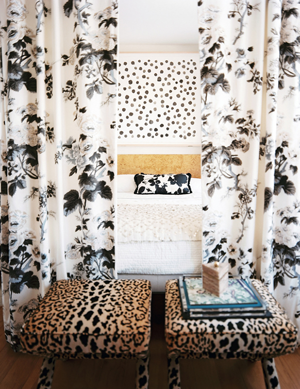 DIY Curtain Canopy bed made with curtain rods